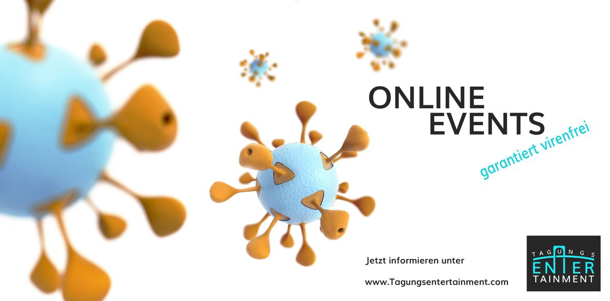 Online Events bereichern